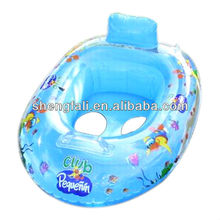 Pvc inflatable baby seat ,baby boat seat inflatable swim ring toy