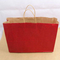 Top Quality Handmade Custom Printing kraft matte varishing printing rotogravure luxury paperboard shopping bags kraft