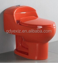 A3112 colored porcelain bathroom red toilet for hotel restaurant
