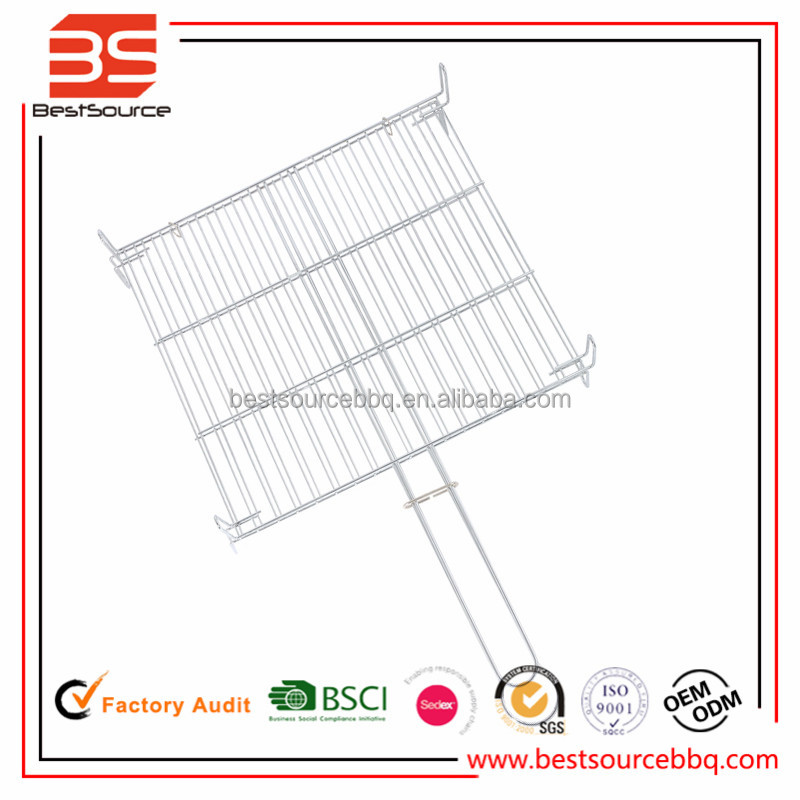 Stainless Steel BBQ Grilling Topper Grid Barbecue Grill Net