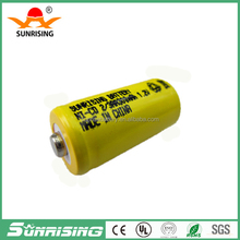 Low price 1.2v Nicd 2/3AA 150mah rechargeable battery /1.2v NI-CD battery with button top