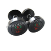 Wholesale Weight Lifting Crossfit PU Coated Dumbbell Set