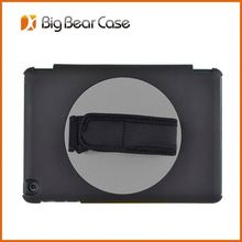 360 rotate suede leather rotating case for ipad 4 3 2