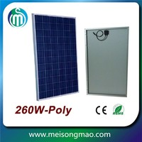 Cheap solar panel for india market poly solar panel 60W