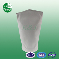 Three kinds(PE, PP, Nylon) of marine filter socks used in water filter bag