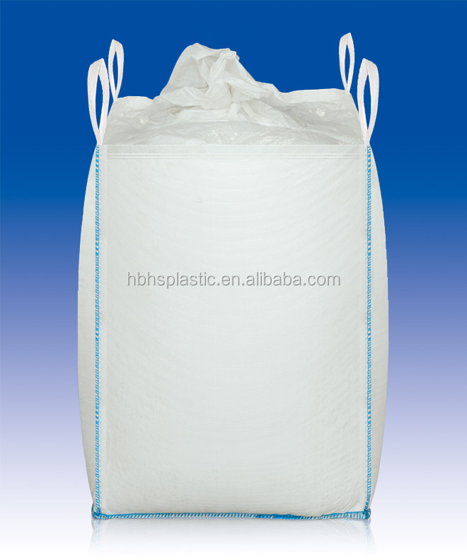 ISO Recyclable Feature and polypropylen Material PP woven ton bag