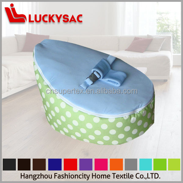 High Quality Baby Bean Bag Bed Kids Soft Sofa Harness Hold Belt
