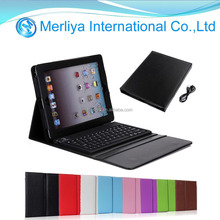 Bluetooth Keyboard Leather Case for iPad 2&3&4