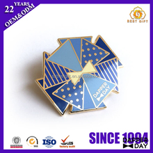 Top Quality Iron Stamping Soft Enamel Flower Lapel Pin