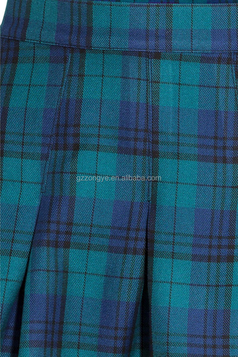 Pleated check skirt hot sexy girls mini skirts ladies