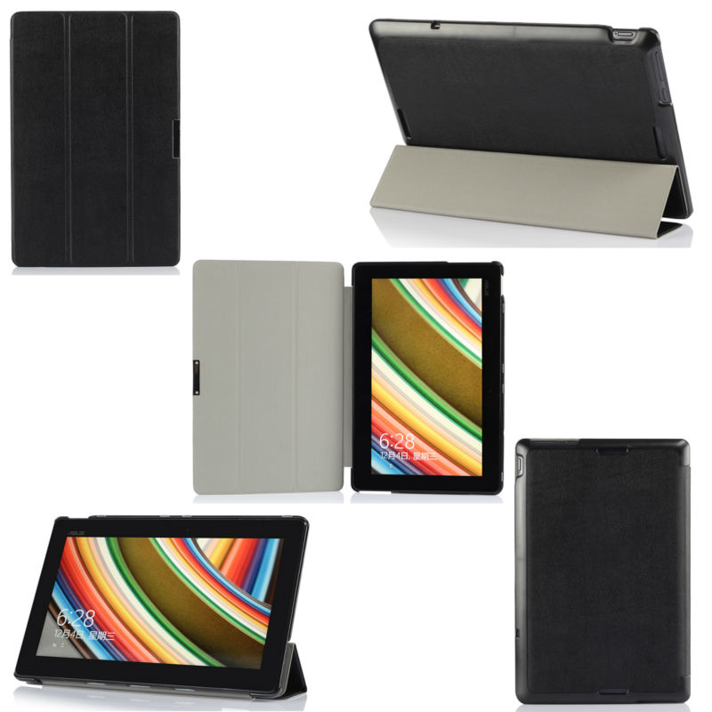 PU leather slim cover case for new ASUS Transform T100t