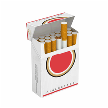 Paper wholesale cardboard cigarette case boxes sale
