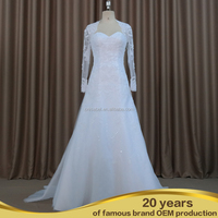 SW16687 Front slit bridesmaid wedding dress hot sale clothing fashion wedding dress