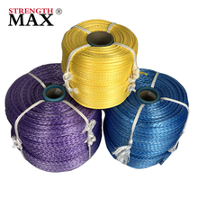 (JINLI ROPE) High strength powerful uhmwpe wear-resistant used mooring ship rope marine rope