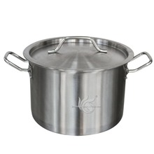 Wholesale Large Capacity Stainless Steel Stock Pot