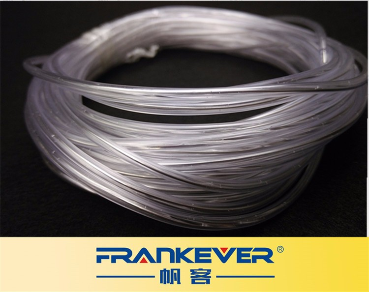 FRANKEVER lighting fiber optic with stainless wire inside PMMA optical fiber for DIY fiber lamp