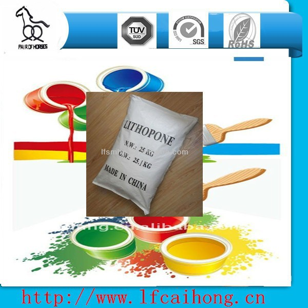 High whiteness price Lithopone powder b301 for Painting& Coating,ZnS 28%-30%