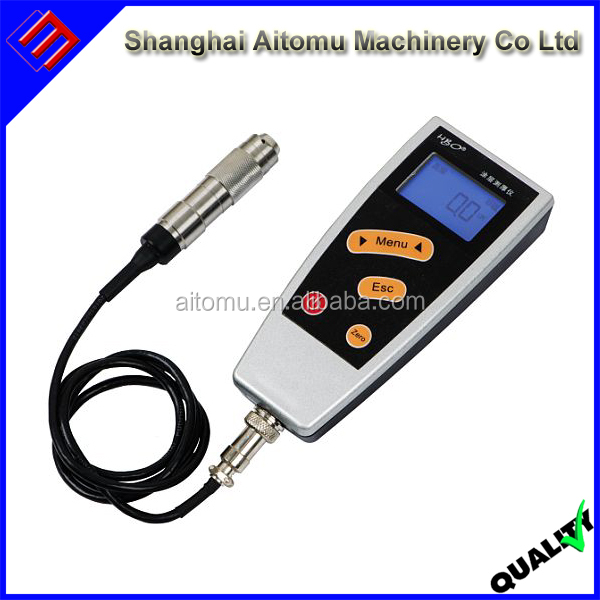 Digital Coating Thickness Gauge For Steel Iron Alloy Rubber Paint Plastic Film