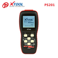 XTOOL PS201 ARM Chip sinotruck cnhtc howo vehicle diagnostic scanner machine for truck 12v 24v