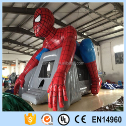 Giant Advertising Inflatable Spiderman Cartoon/ Promotional Inflatable Spiderman Replica/ Cheap Inflatable Spiderman Model