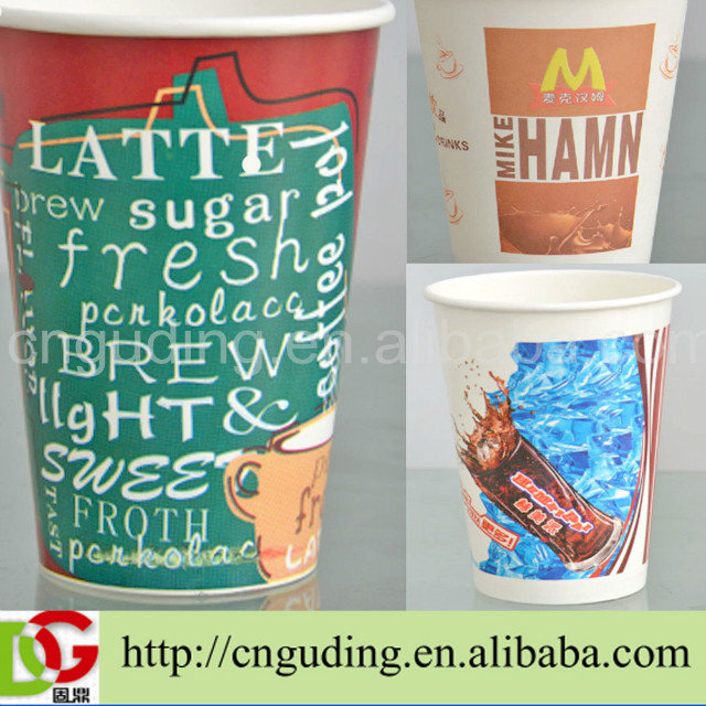 Largest manufacturer provide single wall paper cup