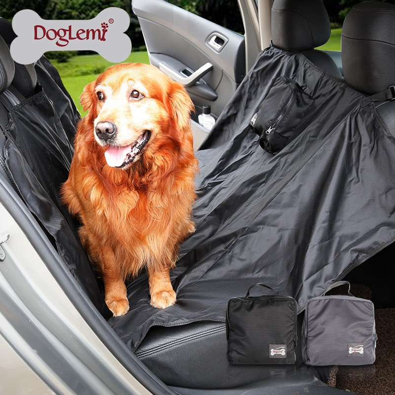 Trade Assurance pet seat cover car seat cover for pets with zipper waterproof pet car seat mat