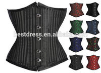 fajas instyles butt lifter 2015 Wholesale Hot Steampunk Sexy Leather Waist trimming Corset in