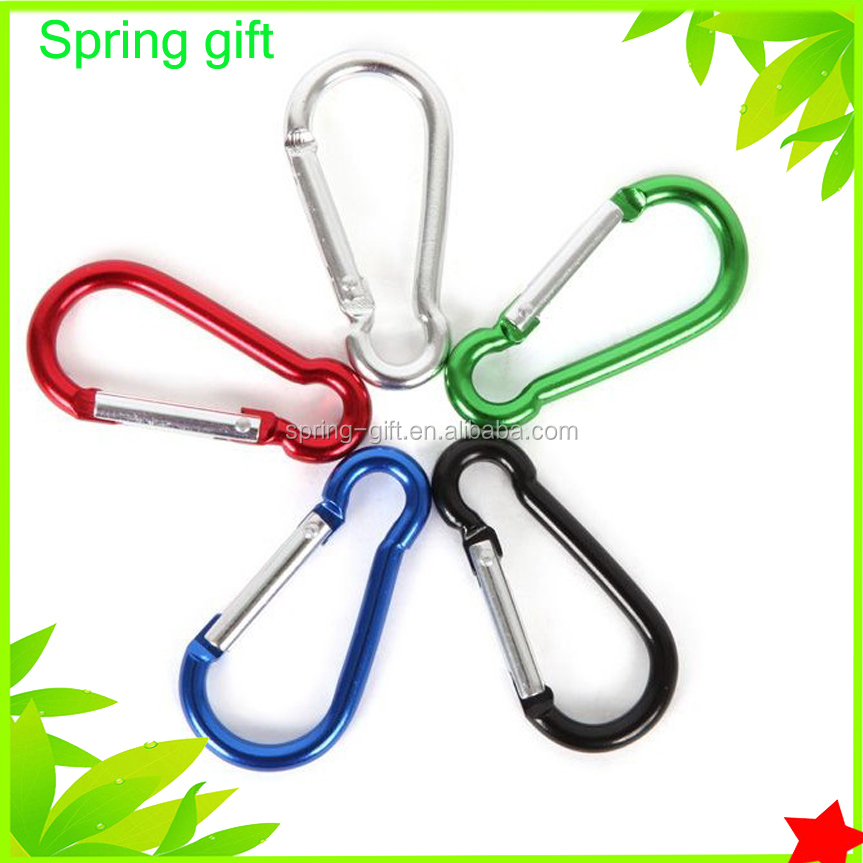 Metal Climbing Snap Hook Aluminum Carabiner For Keychain