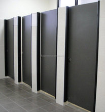 China easy clean cheap price high quality hpl laminate compact water proof glossy finish toilet cubicle partition