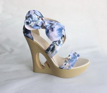 Simple 2014 Fashion Summer Sandals Wedges Platform Open Toe Women Shoes