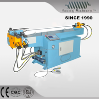Single head hydraulic pipe rolling machine