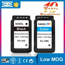 545 546 ink cartridge High Capacity ink cartridges for canon pixma mg2550