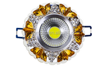 Advanced PC and Aluminum 3W COB LED ceiling lamp for room