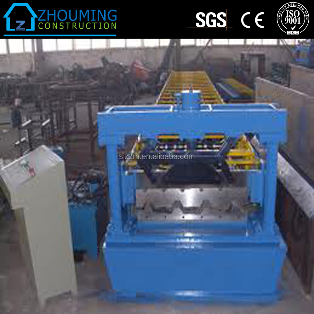 Corrugated Waves Profile galvanized curving roof forming machine