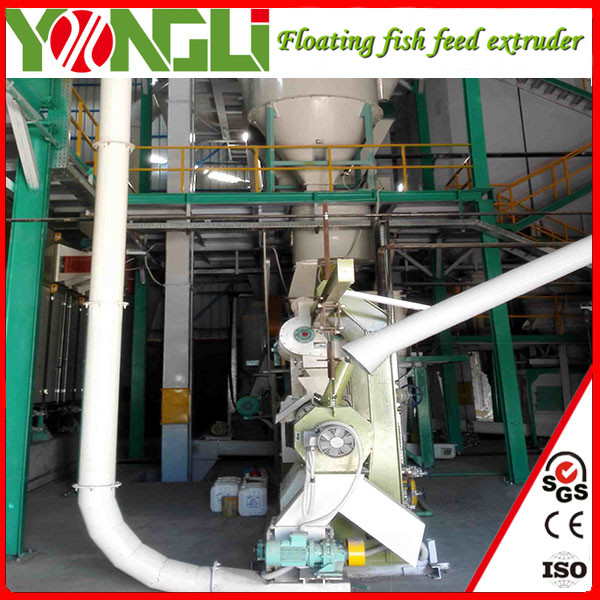 run smoothly Well known floating fish feed extruder machine