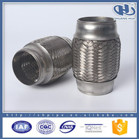 titanium exhaust,car exhaust flexible tube