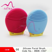 mini Facial Brush Silicone Electric Face Cleaner 2 Speed Sonic Face Massager Water Proof facial cleanser spa