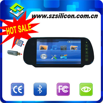 HOT Sales Promotion 7 inch motorized LED backlight car monitoring