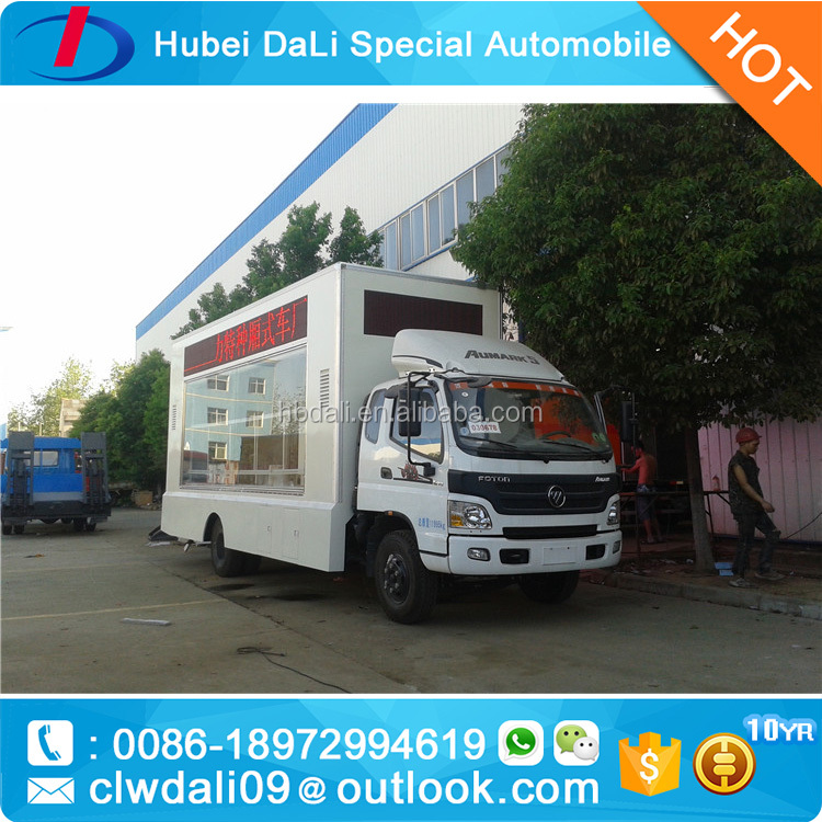 cheap P10 lights led truck for sale