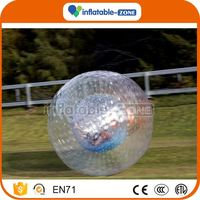 Hot Selling special design grass zorb water pool for zorb ball