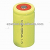 1.2v D Size 9000mAh Flat Top rechargeable NiMH battery for electric power tools