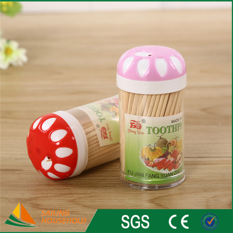 Factory supplied directly toothpick price, pack ornate custom toothpicks, party decoration toothpicks