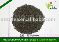 2015 new export chinese green tea price gunpowder tea 3505AA