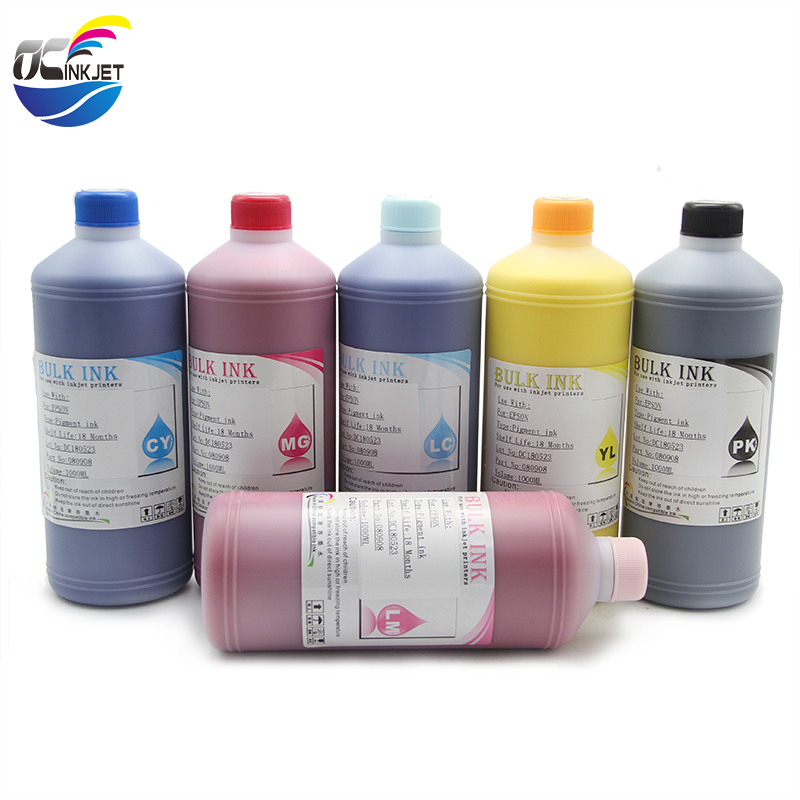 Ocinkjet 1000ML 6 Colors Genuine High Quality Pigment Ink For HP Designjet <strong>120</strong>