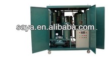 hydraulic industry lubrication system black oil processing oil filter machine