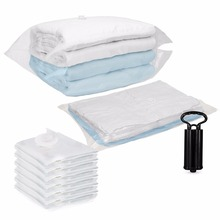 China Suppliers Reusable Quilt Storage Bag Space Saver Vacuum Storage Bag For Queen Mattress