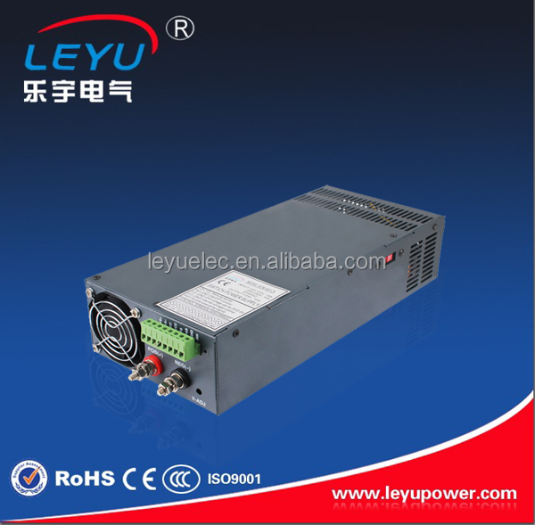 90~130VAC /180~264VAC input voltage 1000w single output 24v dc power module