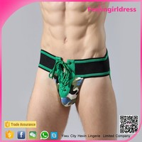 Latest New Sexy Lace Up Bedtime Men Underwear Gay Men Sex