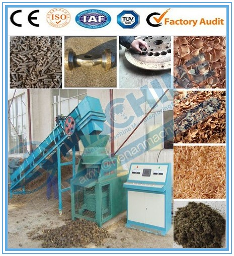 Economical coffee husk charcoal stick making machine/sawdust screw extruder sell well at home and abroad