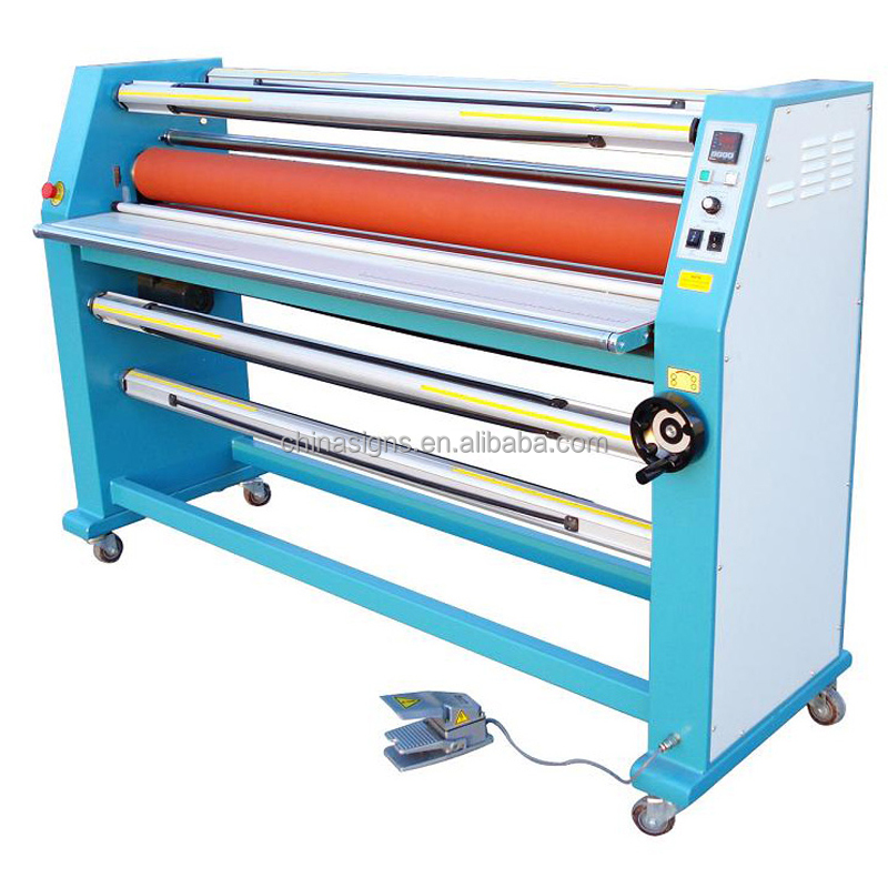 "Hot Sale 63"" Cabinet Frame Full-auto Electric Single Side Wide Format Hot Laminator"
